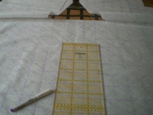 раскладываем ткань фото