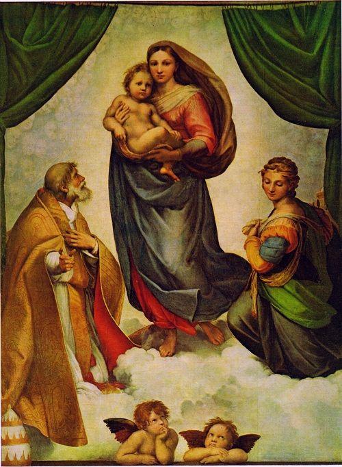 Сикстинская Мадонна фото