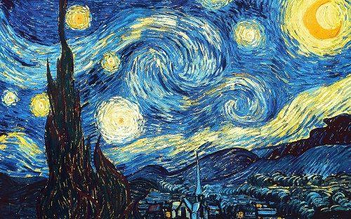 Звездная ночь фото