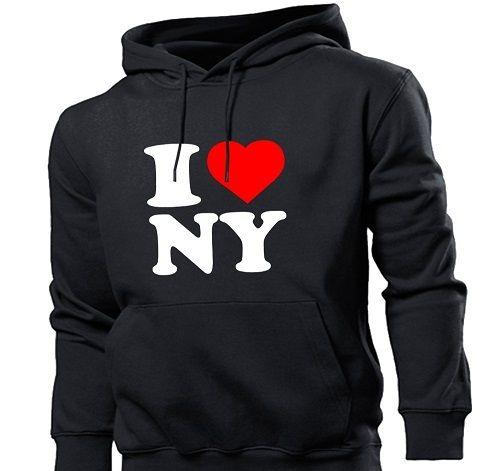"худи ""I love New York"" фото"