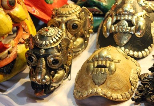 маски из Гоа фото
