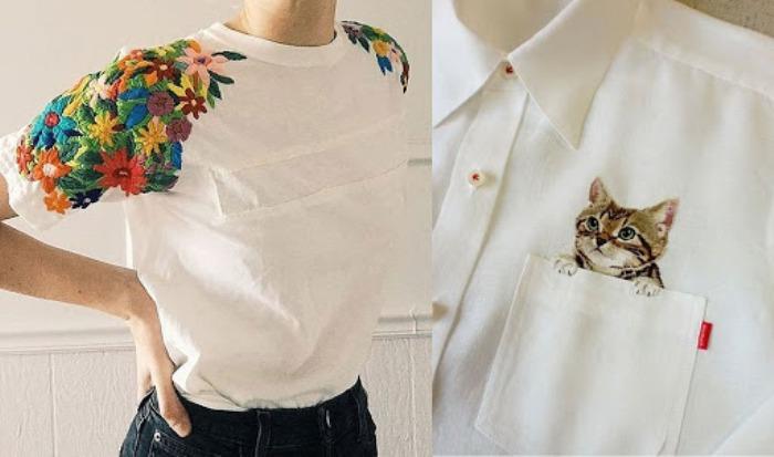 Вышивка на одежде: индивидуальный стиль и яркий образ