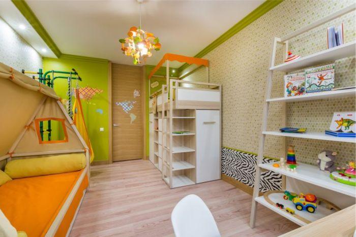 Шведская стенка - полезное приобретение для развития ребенка